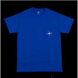 T-Shirts Animal Emblem Pocket L Blue