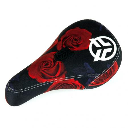 Federal Mid Roses black-red with white logo BMX seat