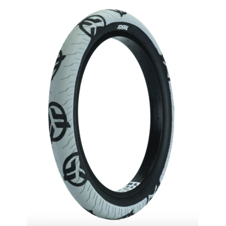 Federal Command LP 2.4 gray with black logo BMX tire
