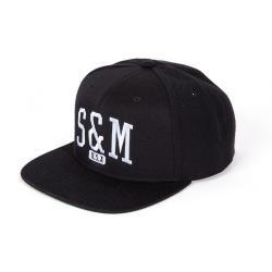 Cap S&M Shield Black