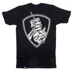 T-Shirts Subrosa Rose Shield L Black