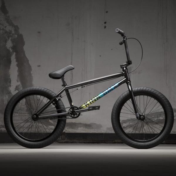 KINK Whip XL 2021 Gloss Black Fade BMX bike