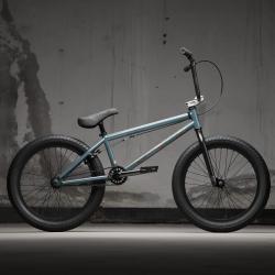 KINK Curb 2021 Gloss Ocean Gray BMX bike