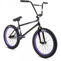 Stolen 2021 SINNER FC XLT RHD 21 Black with Lavender BMX bike