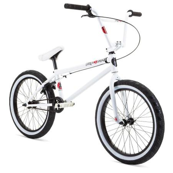 Stolen 2021 OVERLORD 20.75 Snow Blind White BMX bike