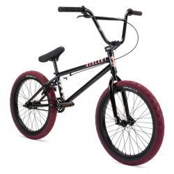 Stolen 2021 CASINO 20.25 Black with Blood Red BMX bike