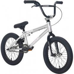 Academy Inspire 16 2021 Silver with Black BMX bike