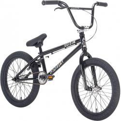 Academy Origin 18 2021 Black with Polished BMX bike