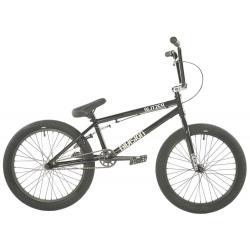 Division Blitzer 2021 19.25 Black with Polished BMX bike