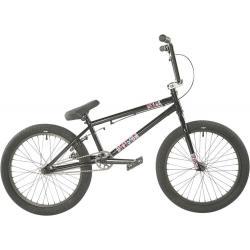 Division Reark 2021 19.5 Black with Polished BMX bike