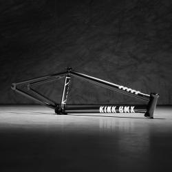 Kink Titan 2 21.25 black BMX Frame